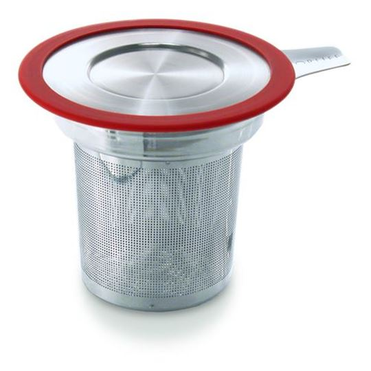 Picture of Brew-in-Mug Extra-fine Tea Infuser with Lid