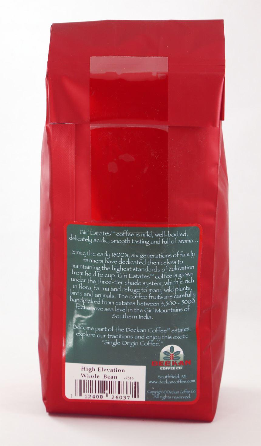 Coffee organic tea -  Picture Of Giri Estates Indian Coffee Roast