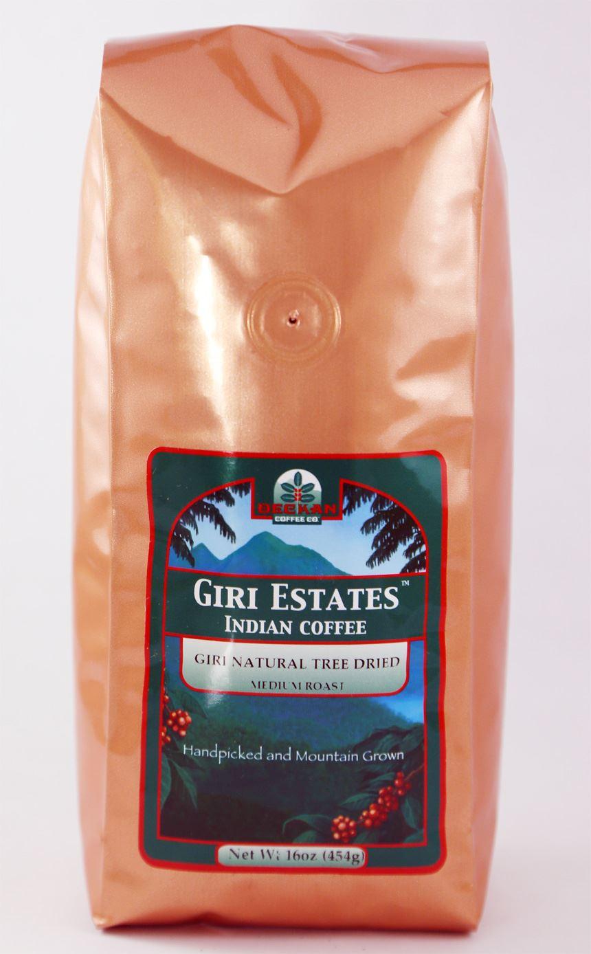 Coffee organic tea - Giri Estates Natural Tree Dried Coffee